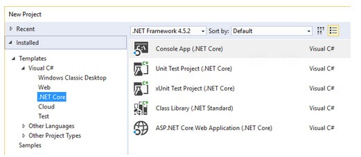MBuild Alpha Release  Net Core Tools in Visual Studio 2017